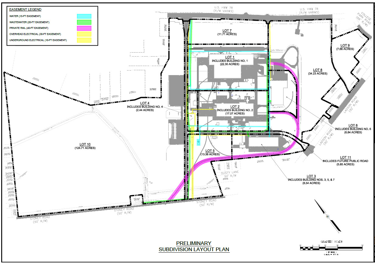 Site Plan Charleston Manufacturing Center Jll Charleston Manufacturing Center
